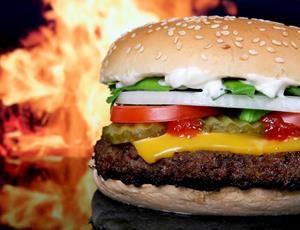 Burning Burger